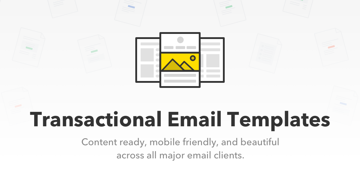 Transactional Email Templates From Postmark - Transactional email templates