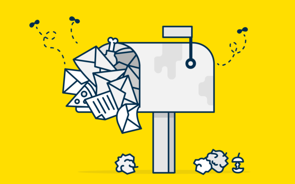 Inbox stuffed with useless email