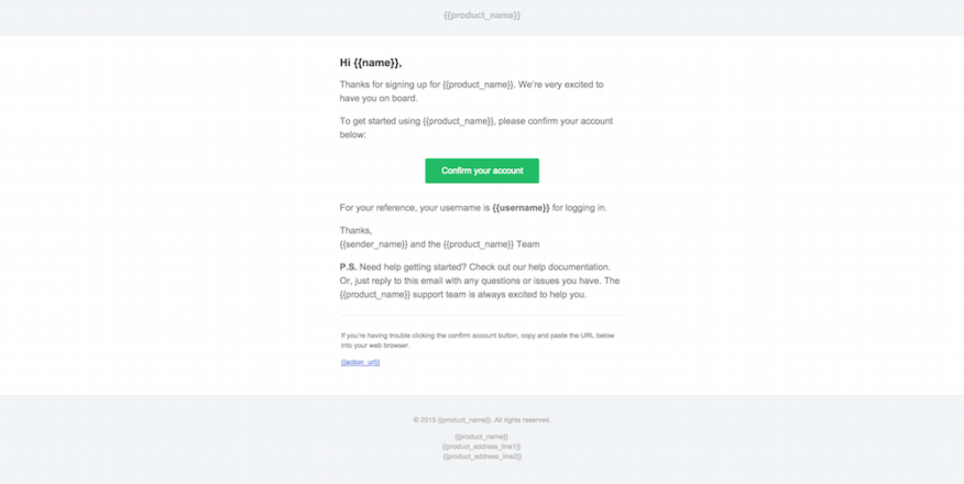 welcome to the team email template