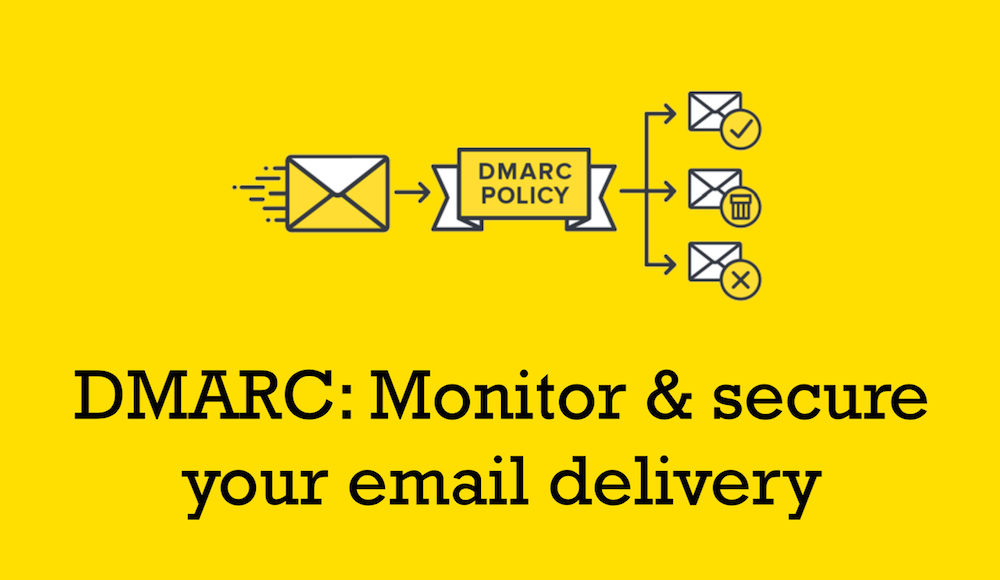 DMARC: Monitor & secure your email delivery