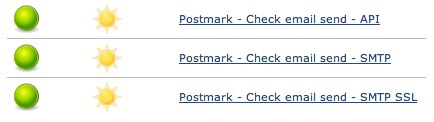 Postmark first's automated testing started with a simple suite.
