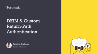 DKIM and custom return-path authentication
