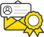 Comment notification email icon