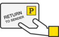 "An enveloper with ""return to sender"" stamped on it."